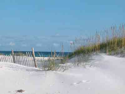 Gulf-Islands-National-Seashore:-Dunes:-9.2-Miles_03.jpg:  dune fence, quartz sand, sea oats, gulf of mexico, surf, beach, barrier island,