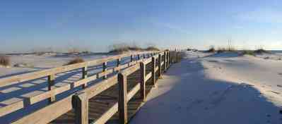 Gulf-Islands-National-Seashore:-Parking-Lot-9_02.jpg:  dunes, sea oats, boardwalk, gulf of mexico
