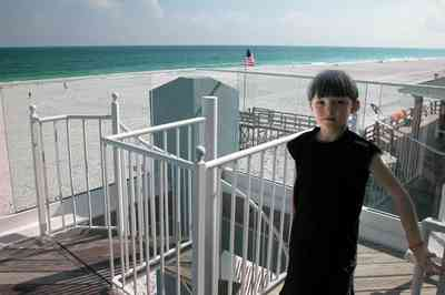 Pensacola-Beach:-1212-Ariola-Drive_24.jpg:  jonathan st. louis, balcony, deck, third floor deck, pensacola beach, gulf of mexico, staircase