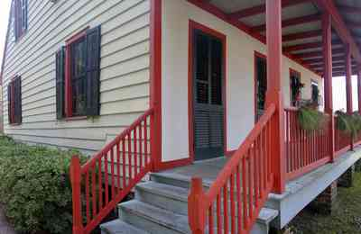 Pensacola:-Historic-Pensacola-Village:-LaValle-House_05.jpg:  porch, railings, shutters, gulf coast cottage, pensacola historic village